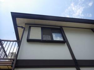 キイロスズメバチがうろついていた出窓の周辺の様子(福島県三春町).jpg
