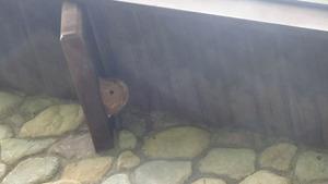軒下に作ったコガタスズメバチの巣(須賀川市).jpg